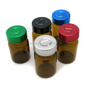 10ml empty glass vials amber glass vial bottle