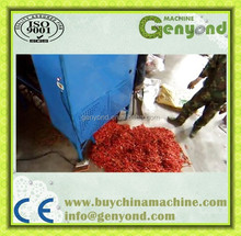 Hot chili stem removing equipment/ red pepper stem cutting machine