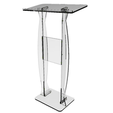 Easy Assembly Modern Design Clear Acrylic Church Pulpit for Sale