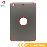 Grand prime factory direct supply tpu pc shockproof case for ipad mini 3