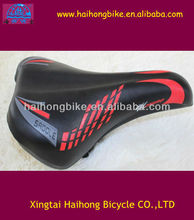 Hot selling red and black bike saddle passed ISO9001 certificate/bike saddles/saddle