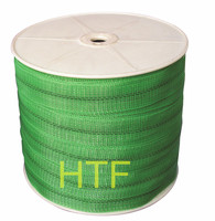 green polytape flexible electric fence for horse