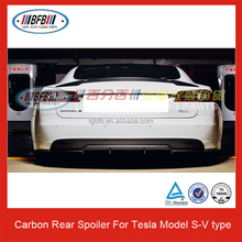 CARBON FIBER REAR SPOILER FOR TESLA S