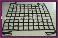 Webbing cargo net Polyester cargo net goods carrying net
