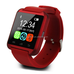 Silicon strap and hot sale smart watch 1gb ram