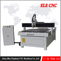 Most popular! Classical ELE 1212 advertising cnc router for sign making