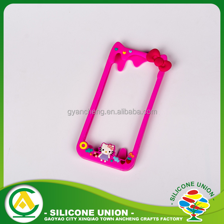 2016 new customized 3D silicone phone case