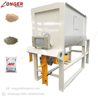 Professional Sand Cement Filling Plant Gypsum Plaster Powder Mixing Machine Dry Mortar Packing Machine