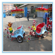 Amusement equipment kiddy oribit rides electric animal pedal cars NO.SY-GDC