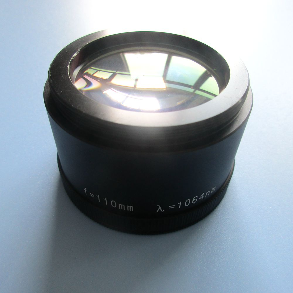 Hot F110 1064nm focuse lens for <strong>laser</strong> marking machines