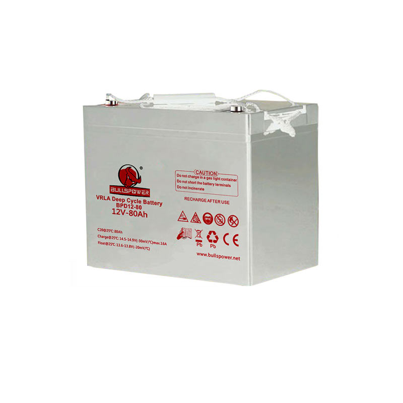deep cycle agm battery 12v 80AH Lead Acid Battery with Excellent deep