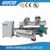 W1325-2H ATC china cnc routerwoodworking cnc router cnc wood router Axis/Mach3 Remote Controller/ China Air Cooling Spindle51E2