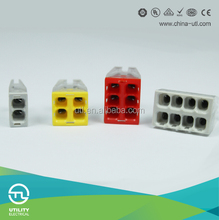 WAGO TYPE 18 to 12 Awg 8 Port Push-in Wire Connector Push-in Wire Connector 2P 4P 6P 8P
