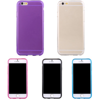 Wholesale Checkout Cheap For iPhone 6 Transparent Crystal Clear Soft TPU Casing