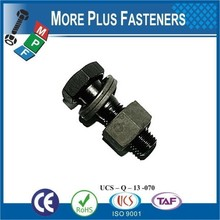 Made in Taiwan DIN 7990 Hexagon Head Structural Bolts and Nuts for Steel Constructions