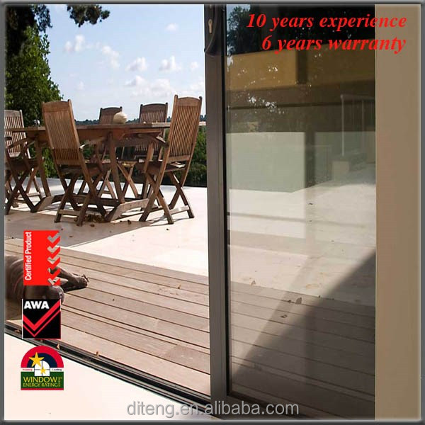 high quality impact automatic glass sliding door mechanism