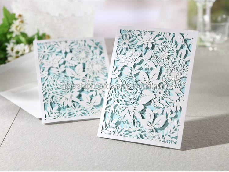 wei e rose blumen laser gestanzt hochzeit einladungskarte papier kunsthandwerke produkt id. Black Bedroom Furniture Sets. Home Design Ideas