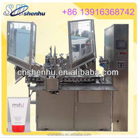 high speed tube filling and sealing machine for toothpaste/face cleaner/shoe oil