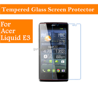 9h hardness 2.5D round edge HD Clear tempered glass screen protector for acer liquid E3