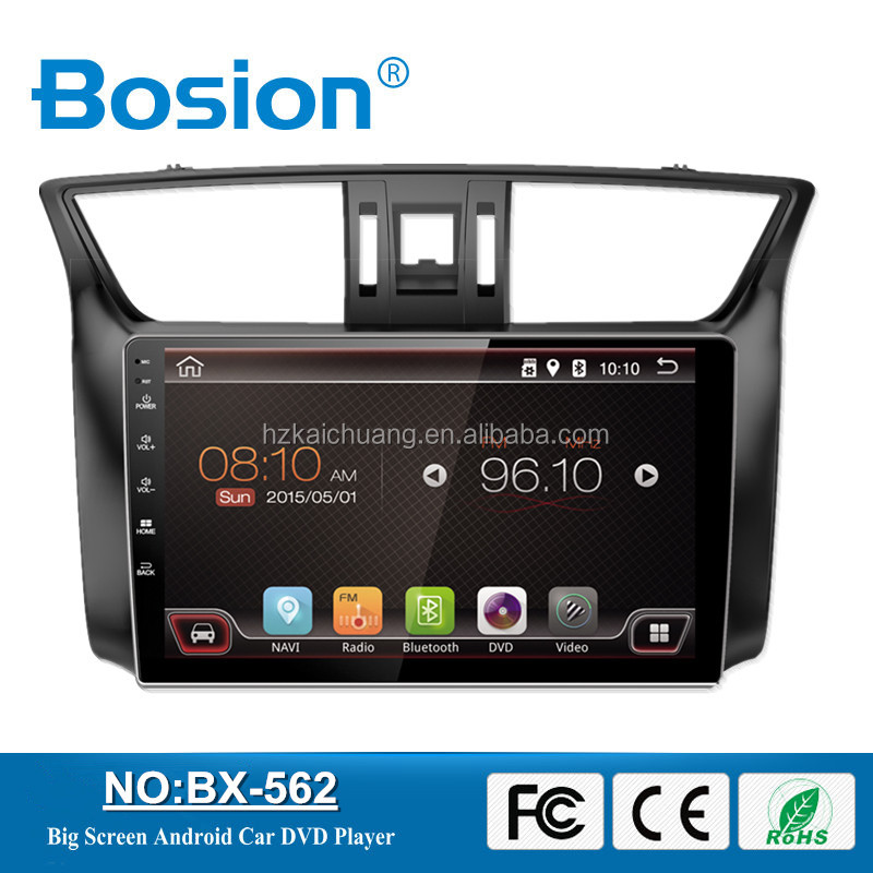 Dashboard Placement 10.1Inch Big Touch Screen Android 4.4.4 Car radio for Sylphy Multimedia System 3G and Bluetooth