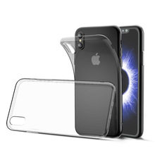 1.0mm Ultra Thin Soft TPU Silicone Transparent Clear Phone Case For IPhone 5 6 7 8 X