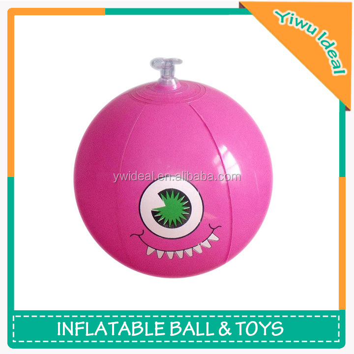 Personalizied Pink Small Inflatable Eye Ball Beach Ball