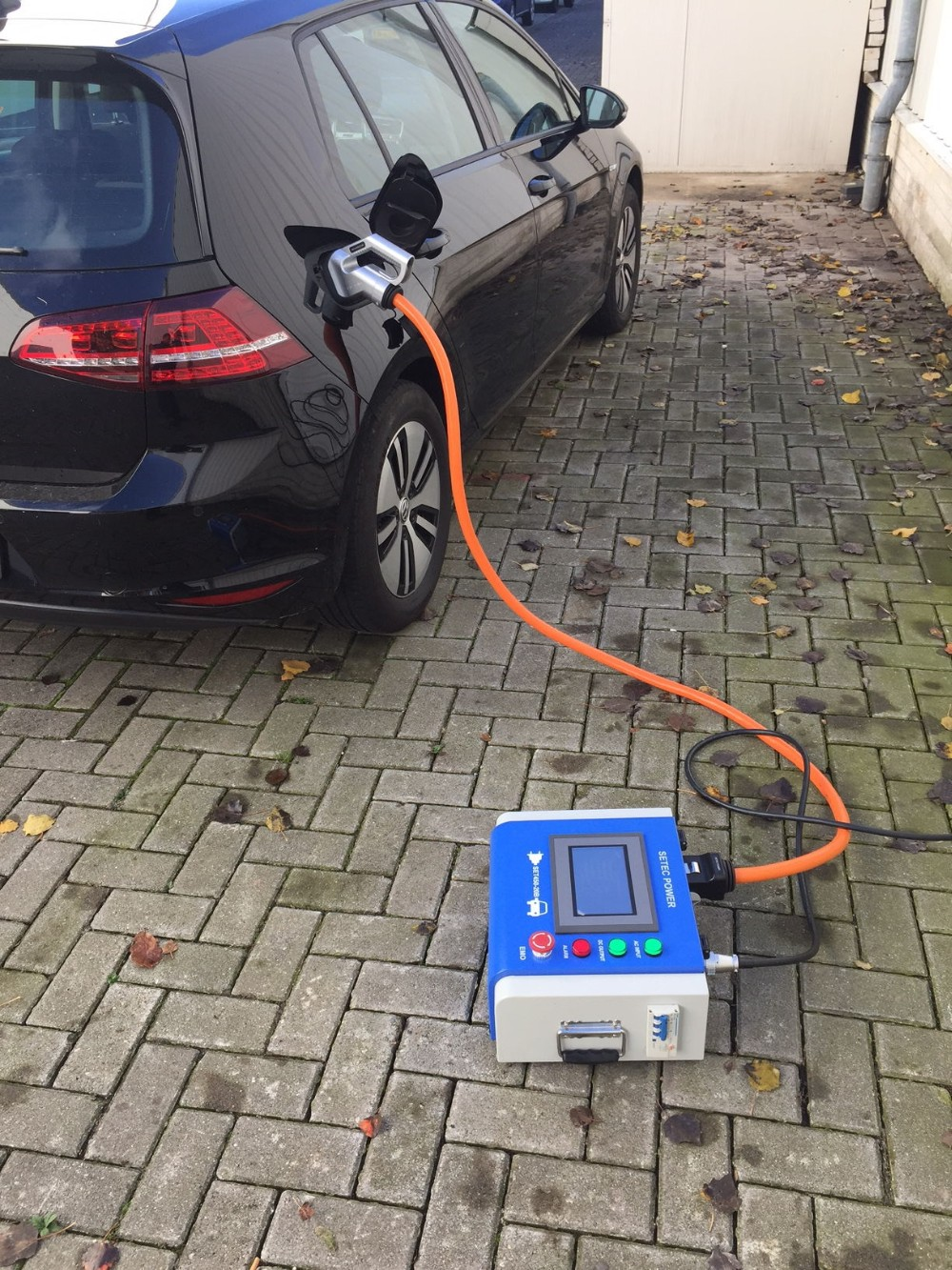 10KW SETEC Portable CHAdeMO quick EV charger station