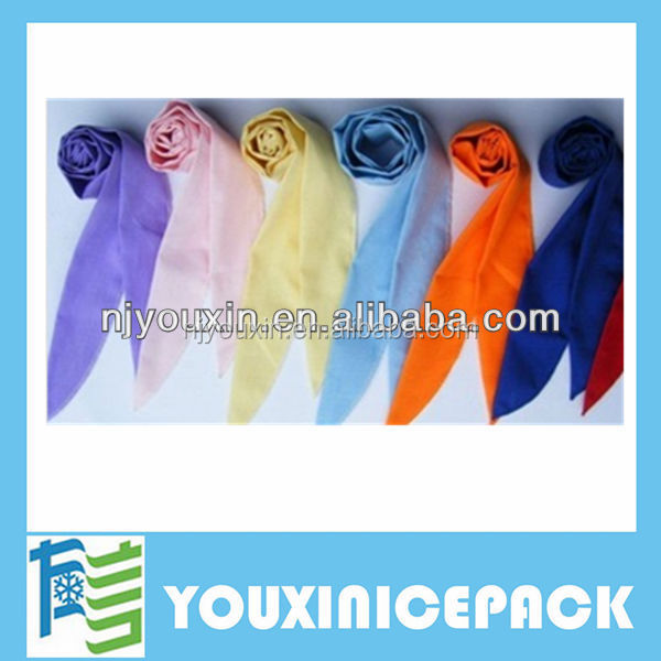 Magic Neck Cooling Scarf Ice Cool Bandana/Cotton Gel Neck Cooling Scarf