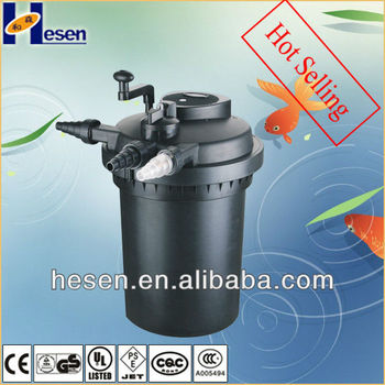GS CE Pond Pressure Filter With Uv Sterilizer