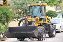 WOLF LOADER 4 wheel drive tractor weighing system / wheel loader weighing scales price