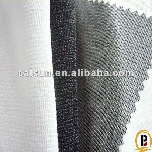 100% pes micro dot woven interlining fabric