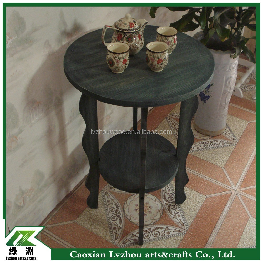 Vintage Wooden Coffee Table , Tea Table Design