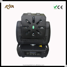 Christmas laser light show 8 eyes RGB moving head led beam programmable projector laser light in sale