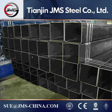 15x15 steel square pipe l80 steel pipe material properties 250*250-500*500mm Black Steel Pipe ,bridge construction