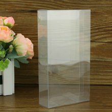 New styles Clear small clear plastic gift boxes with lid