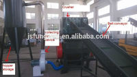 China Supplier Powerful Bottle Plastic Crusher Machine For Sale