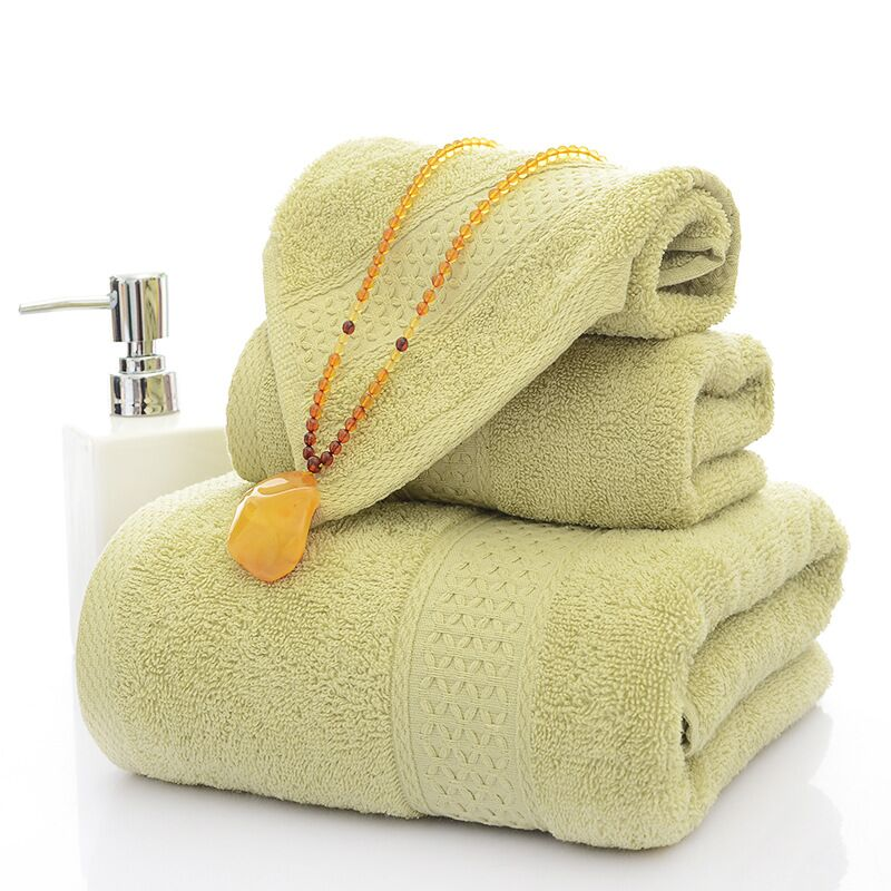 Wholesale China Pure Color luxury Cotton terry Beauty Face hand bath Cloth Towel