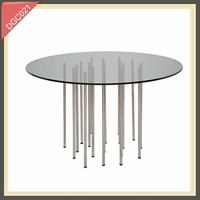 Mother of pearl inlay furniture mango wood furniture glass plywood coffee table DGC021