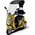 africa electric moped scooter tricycle 3 wheel trike for disabled with ce en12184,en15194