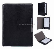 Folio ultra thin slim magnetic PU leather cover case for 2016 Kobo touch