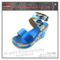 wholesale new models ladies genuine leather sandals shoes