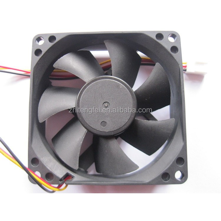 DC Computr Fan 80x80x25mm 8025 axial flow DC brushless fan, laptop internal cooling fans manufacturer