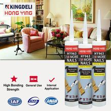 Wood, Panel, Trim Nail Free Construction Adhesive