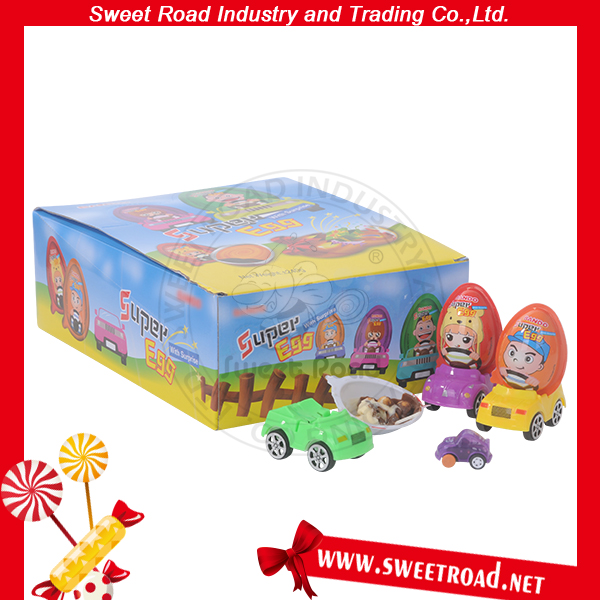 Toy Car Super Egg with Surprise