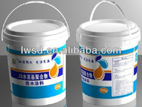 Two composite JS Polymer Cement Based Bathroom Waterproof Coating