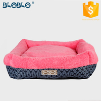 2016 fashion design pretty red dog bed pet dog