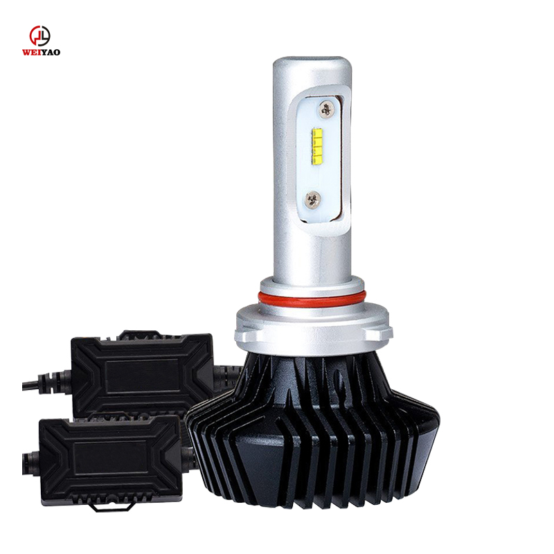 Factory wholesale auto led lamp h1 24v zes car headlight bulb h10 9005 9012 h4 h7 h11 9006