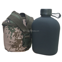 bike cycling outdoor sport aluminum military water bottle