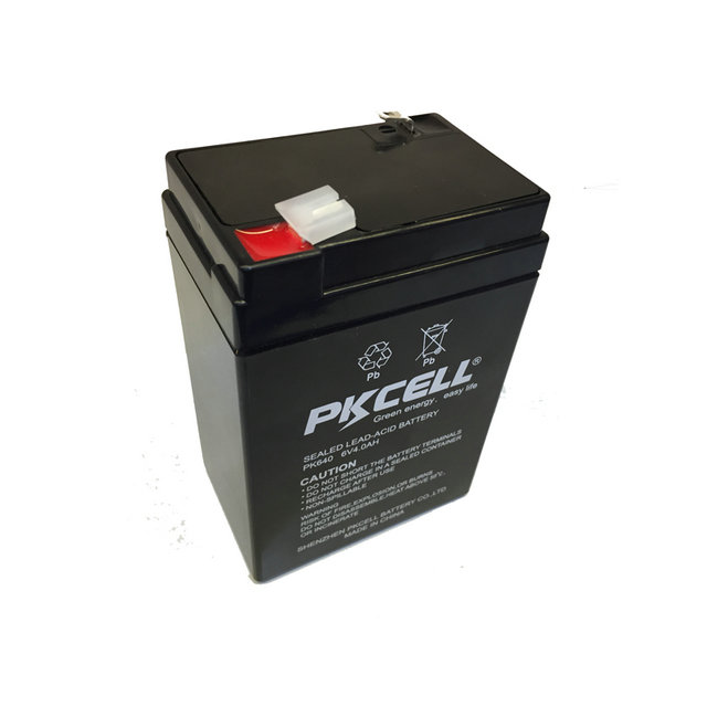 Rechargeable battery sealed lead acid 6v 4.5ah storage battery for solar bank