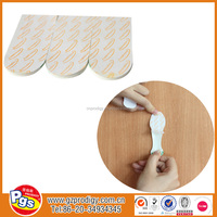 plastic waterproof removable adhesive sticker/tape